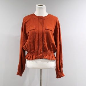 Mossimo Top Womens Size Medium M Button Front
